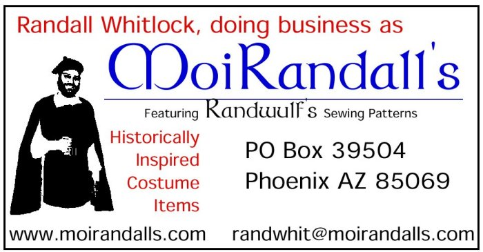 MoiRandall's Business Card